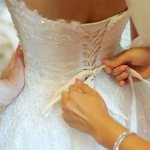 Svatební šaty a celková image